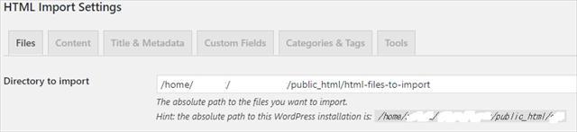 HTML Import 2-4