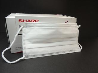 SHAPP シャープの不織布マスク